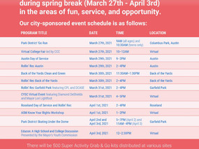Spring Forward Program