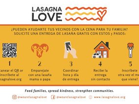 Lasagna Love: Help Get Food to Those in Need