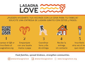 Lasagna Love: Help Get Food to Those in Need