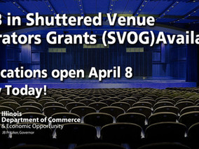 $16B in Shuttered Venue Operators Grants (SVOG) Available - Apply Today!