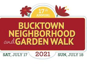 Bucktown Neighborhood & Garden Walk July 17 and 18