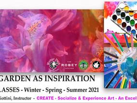Wicker Park Advisory Council Presents: The Garden as Inspiration Art Classes