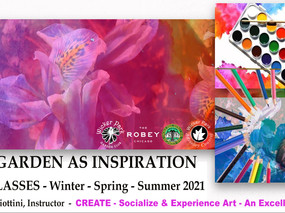 Wicker Park Advisory Council Presents: The Garden as Inspiration Art Classes