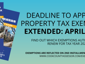 Propety Tax Exemption Application Deadline Extended to April 9