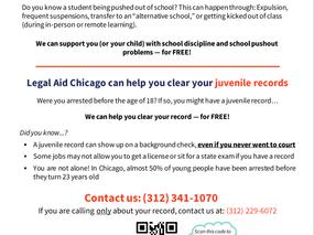 Education Assistance & Juvenile Records Relief