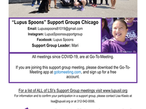 """""""Lupus Spoons"""" Support Groups Chicago"""