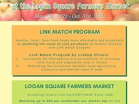 Logan Square Farmers Market LINK Match Program