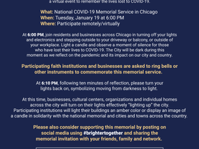National COVID-19 Memorial Service