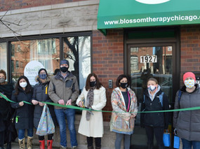 Congratulations to Blossom Therapyat 1927 W. Belmont!