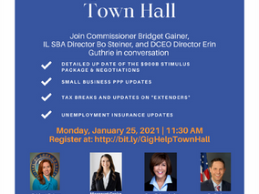 Small Business & Gig Workers Town Hall