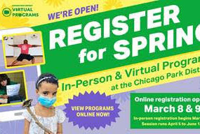 Chicago Park District Opens for Program Registration