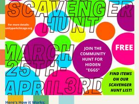 Sponsor Unity Park Church's Easter Egg Hunt
