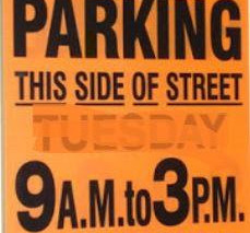 City Street Sweeping Starts Next Week - April 1st
