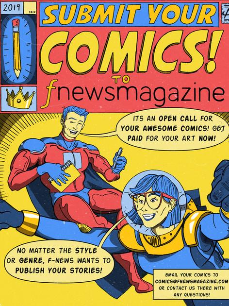 Comics Advertisment