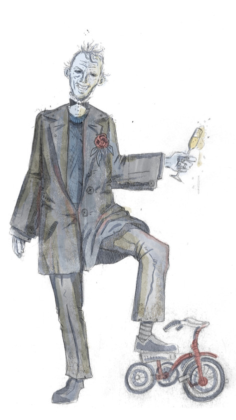 Hades Costume Design