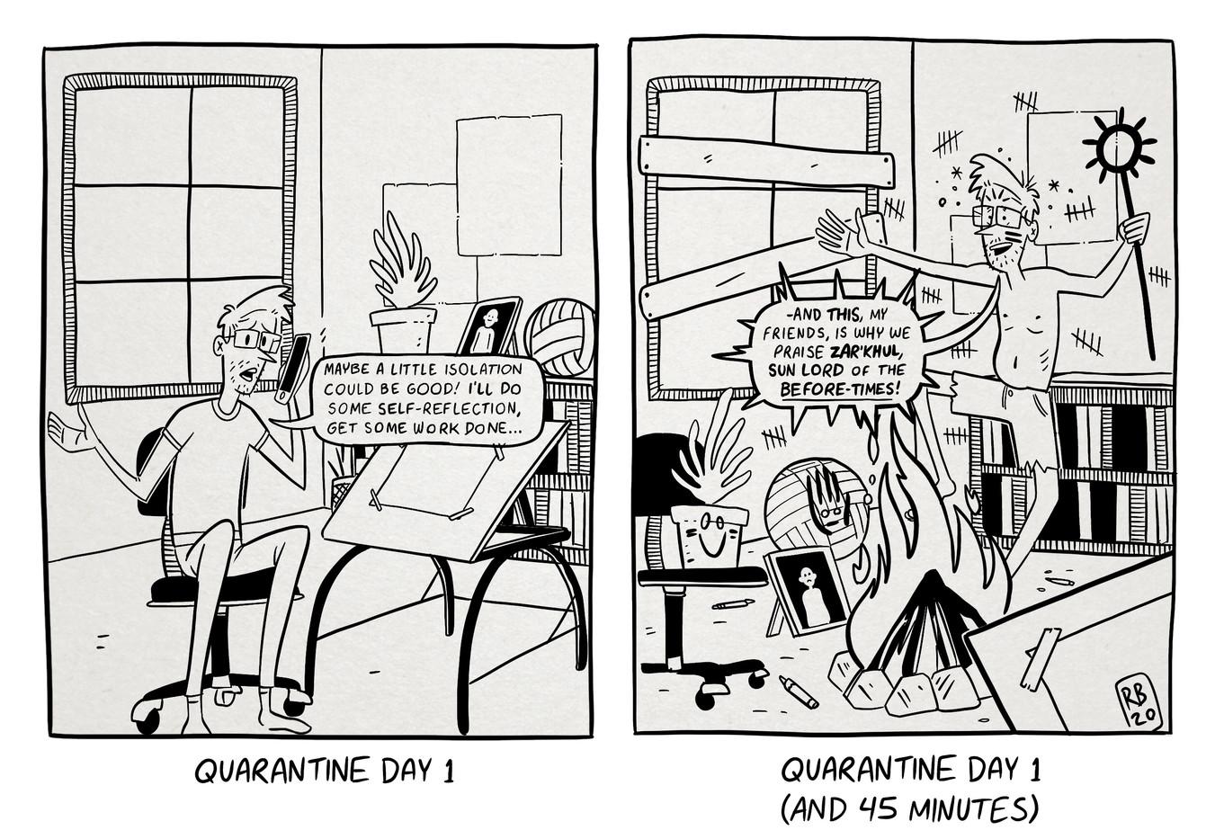 Quarantine Chaos