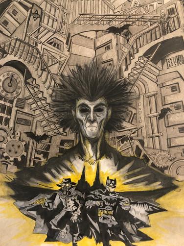 Sandman x Batman Poster