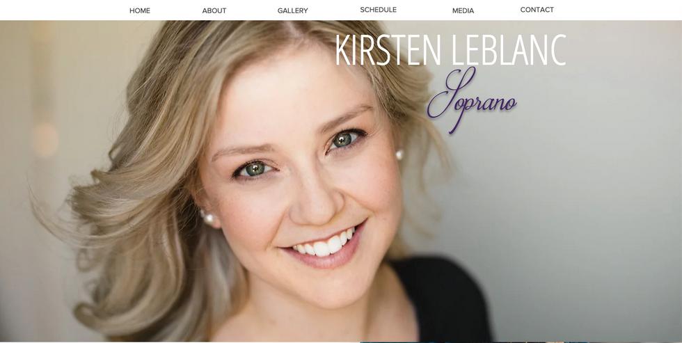 Kirsten LeBlanc, Soprano