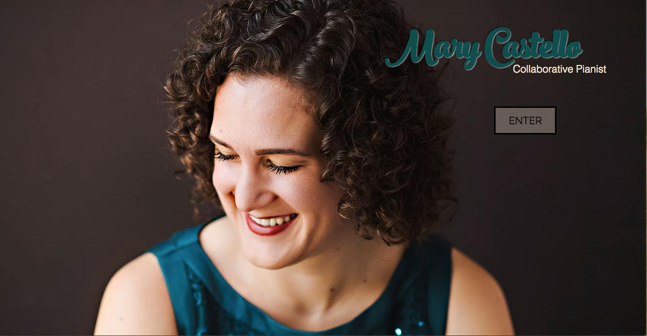 Mary Castello, Collaborative Pianist