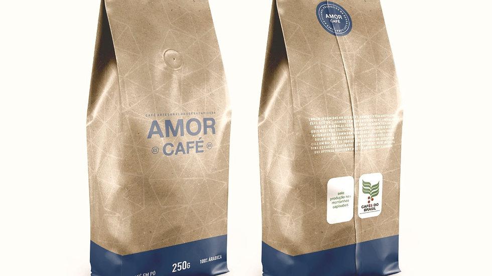 AMOR CAFÉ TORRADO E MOÍDO 500G