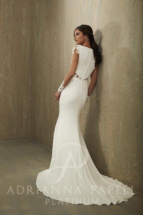 Adrianna Papell Weddng Dress