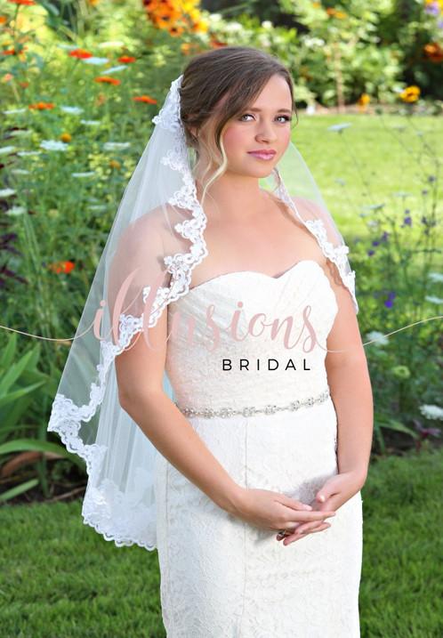 Illusions Wedding Veil