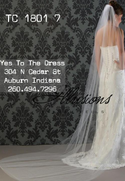 Illusion Wedding Veil