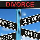 sign post for divorce Mallis Law