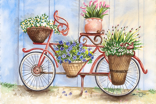 Bicycle Flower Baskets