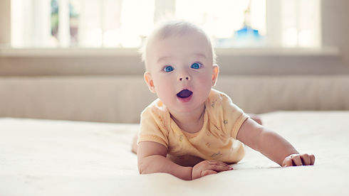 surprised baby