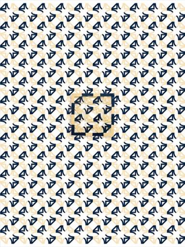 Tappezzeria #02, 2017, Ceramica su carta