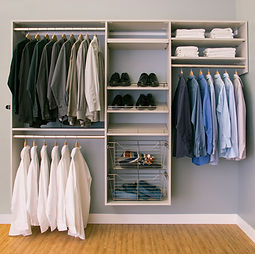 Custom Closet Organizers - Thorcraft Custom Kitchens