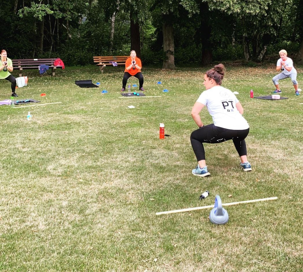 Boot Camp Fitness Class