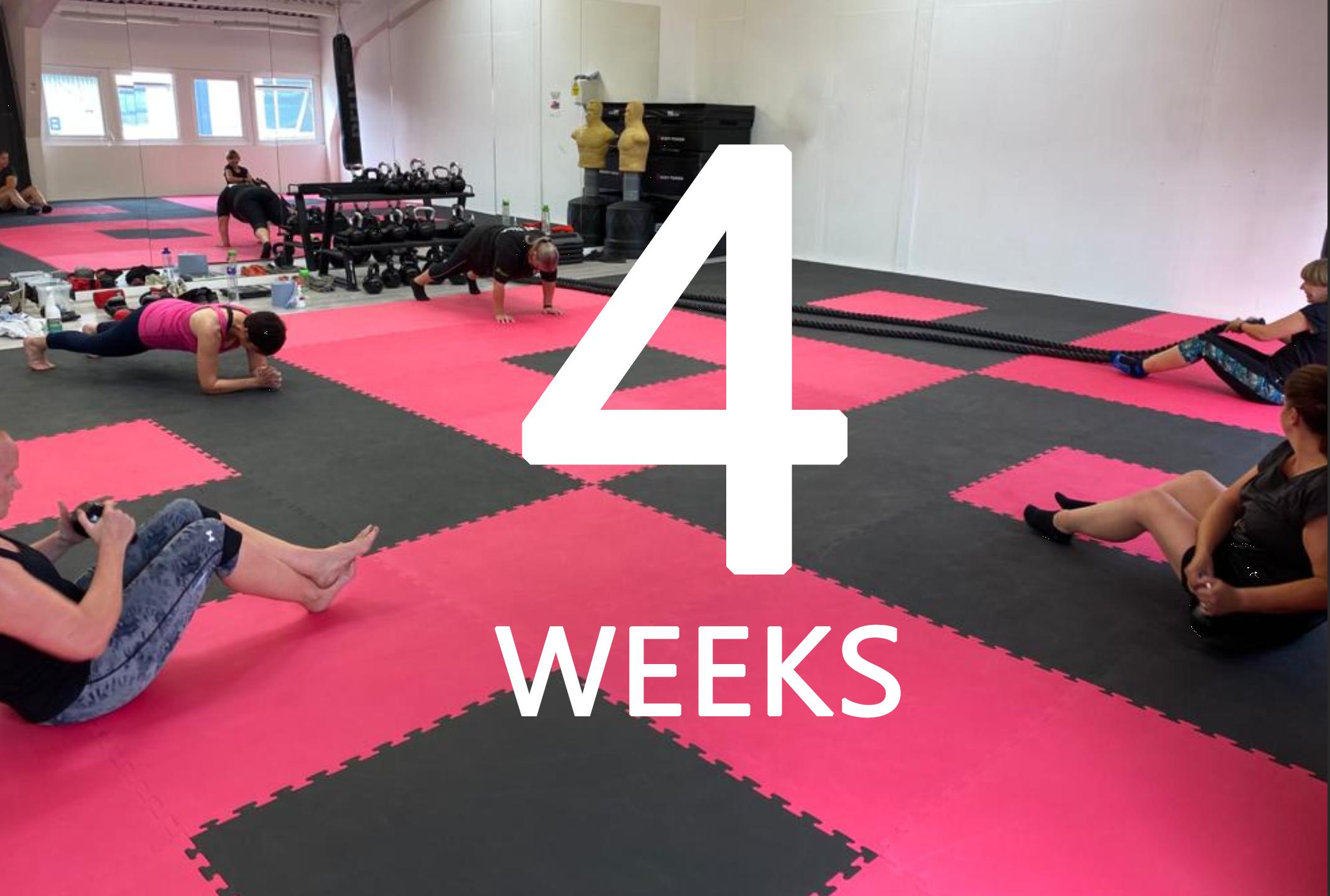 4 Week Exercise Programme