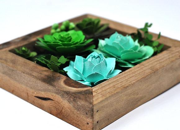Mini Succulent Wall Garden | Luna Collection II