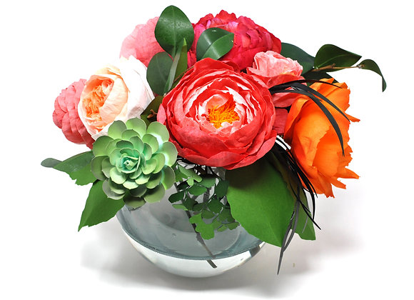 Cheerful+ Charming Peony Bouquet
