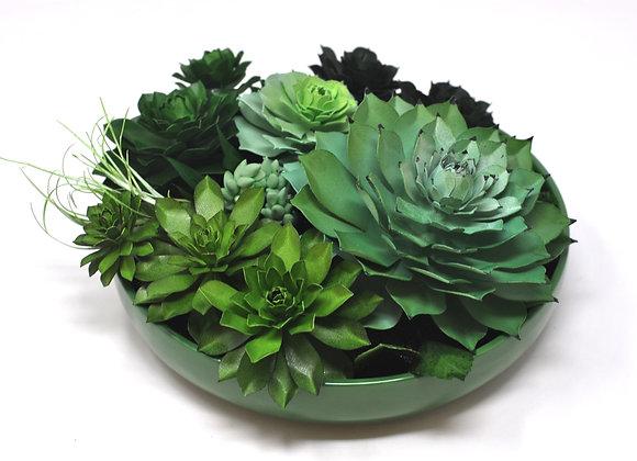 Gradient Green Garden II