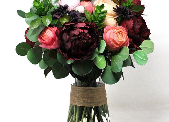 Romantic Garden Blooms Display