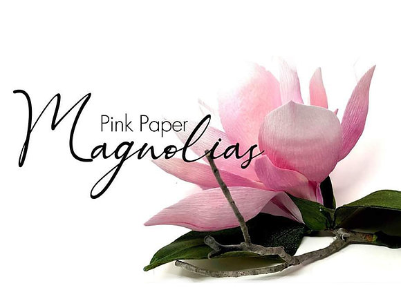 "Learn to Create a ""Magnolia Branch"" Kit"