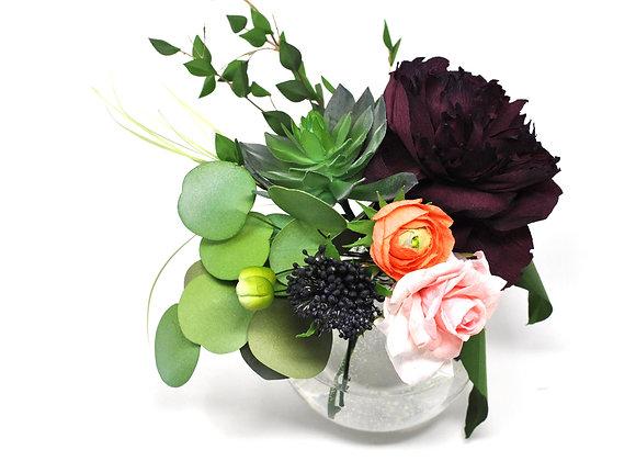 Jewel Toned Rustic Garden Bouquet
