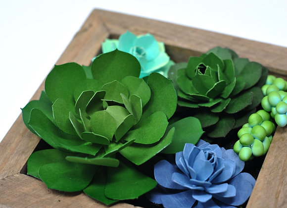 Mini Succulent Wall Garden   Luna Collection I