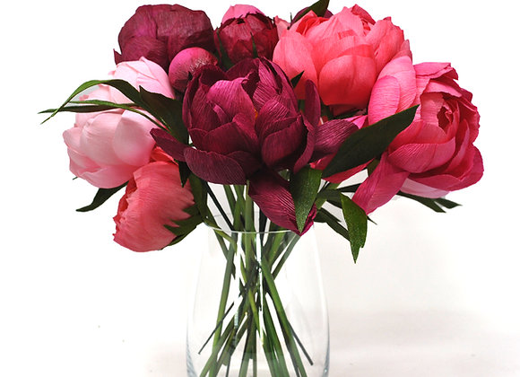 """Build Your Own"" Beautiful Peony Bouquet"