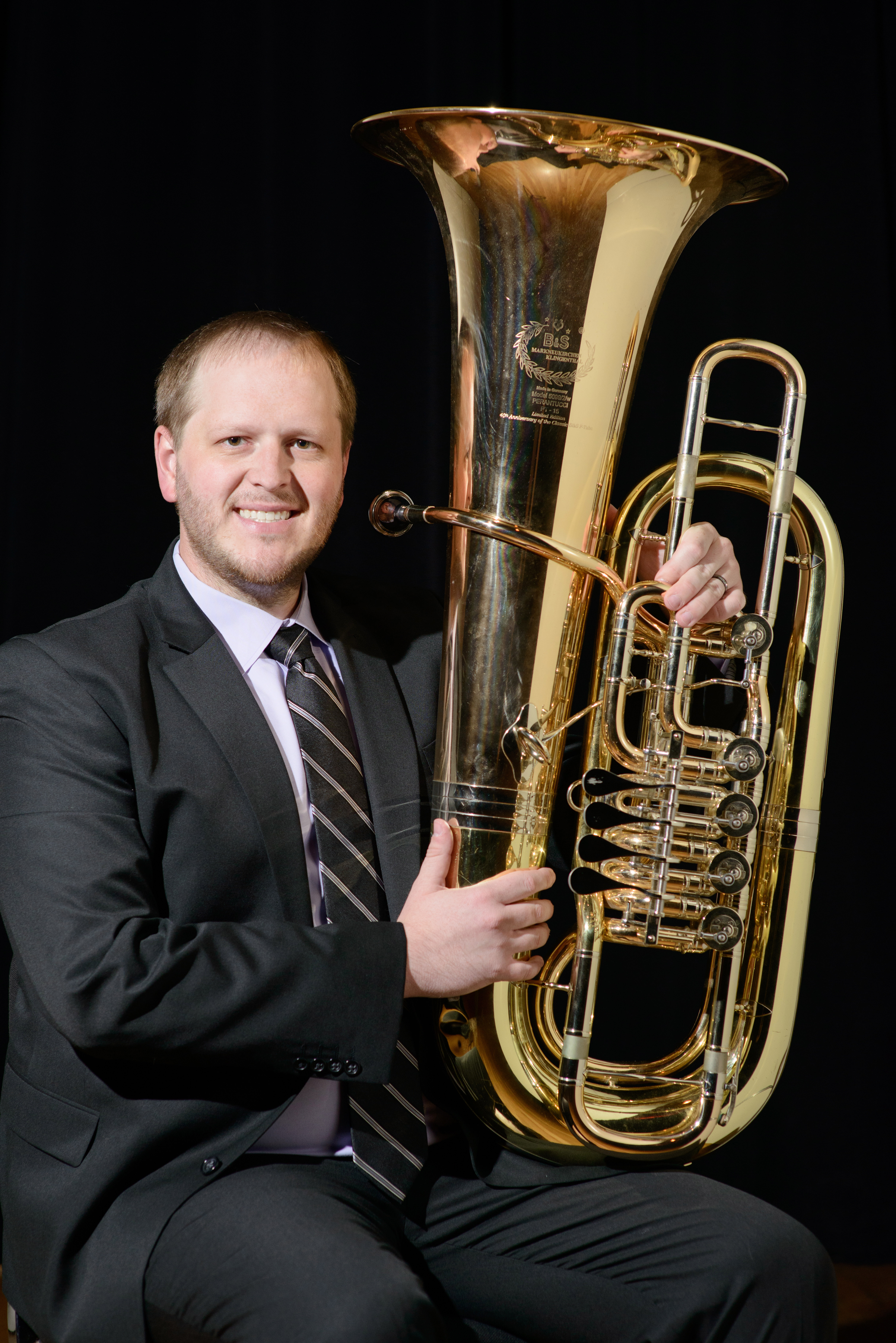 Daniel Rowland, tuba