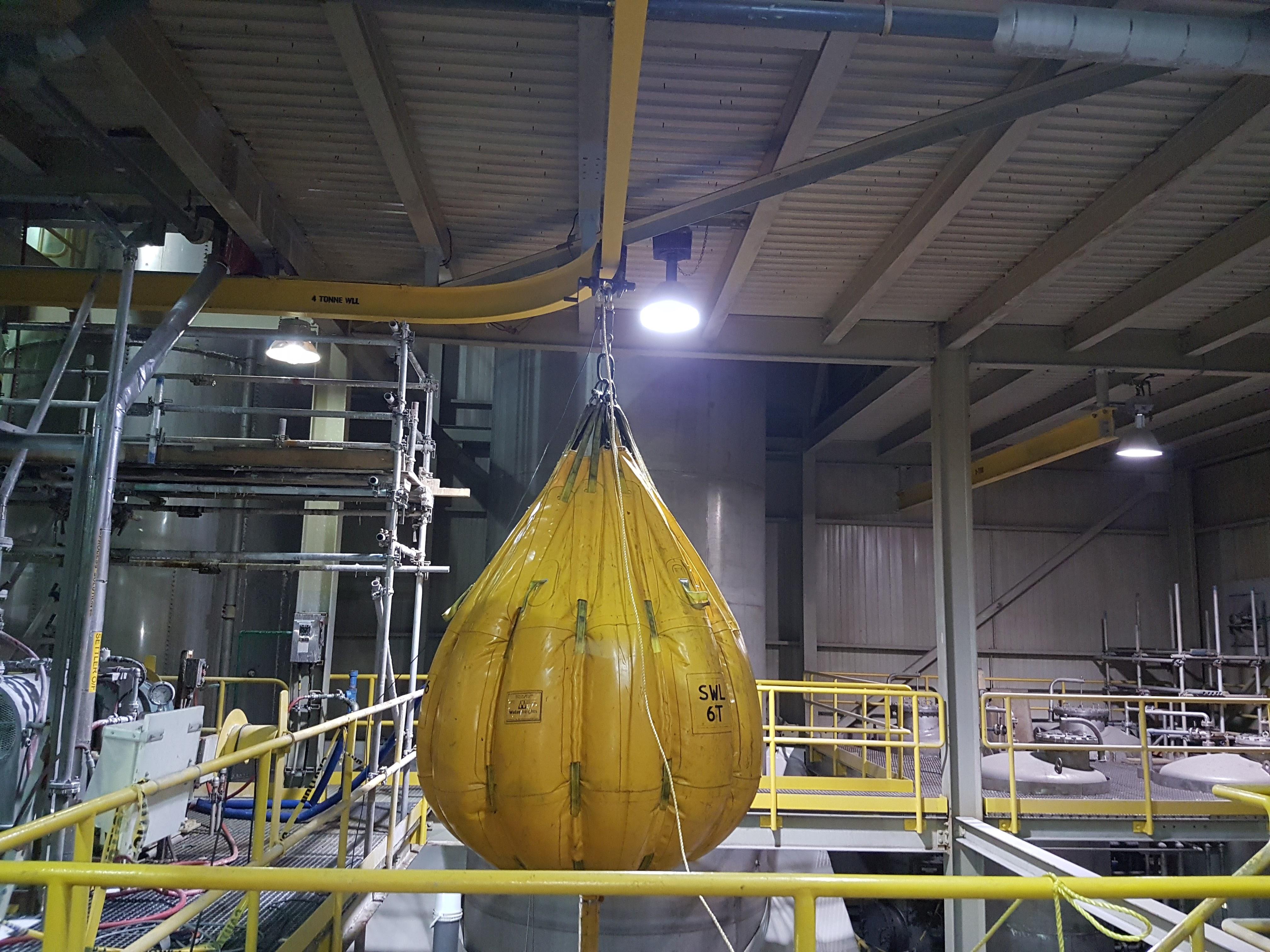 Load Testing 6t Crane
