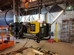 Installing new R&M Hoist