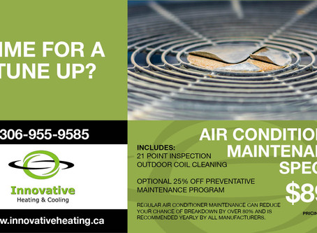 Could your Air Conditioner use a good Tune Up?