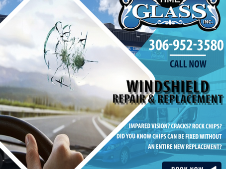 Rock Chips! Avoid impaired vision from Saskatchewan dirt roads!