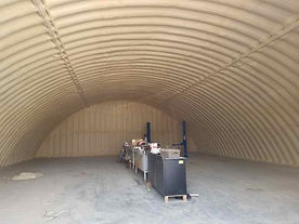 Quonset 2019 with Insulthane Evolution .