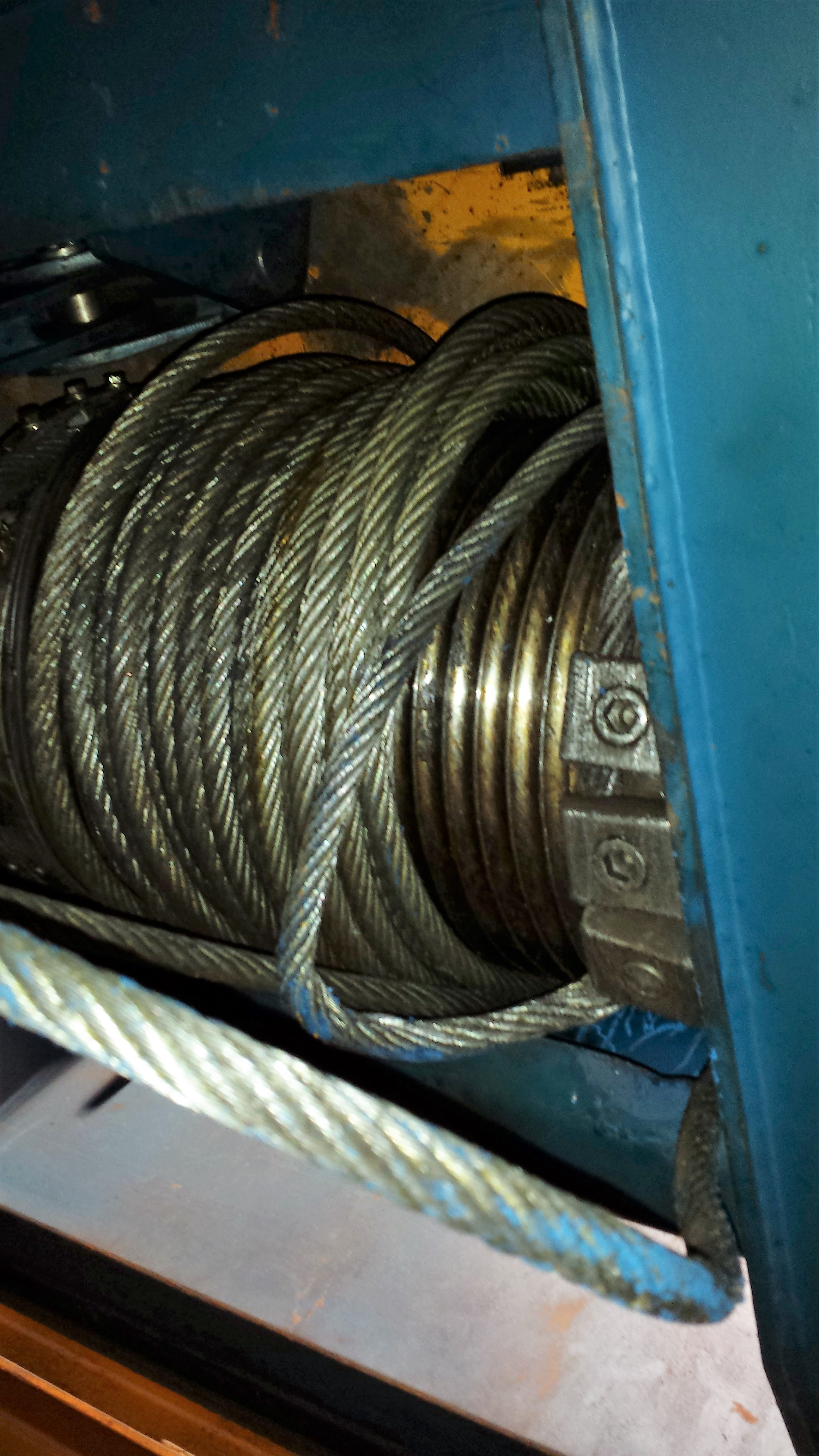Wire Rope off drum