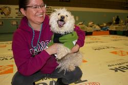 Owner Happy Dog